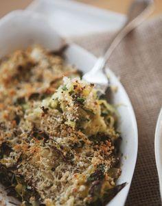 Spaghetti Squash and Kale Gratin.