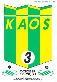 kaos weekender 1990 - Google Search