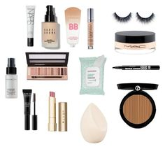 """everyday"" by isabelvsacre on Polyvore featuring beauty, NARS Cosmetics, Bobbi Brown Cosmetics, Maybelline, Urban Decay, Bourjois, MAKE UP FOR EVER, L.A. Girl, MAC Cosmetics and Cover FX"