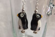 Check out this item in my Etsy shop https://www.etsy.com/listing/193139497/cute-penguin-earrings-black-and-white