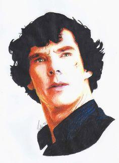 Sherlock Portrait by shuploc.