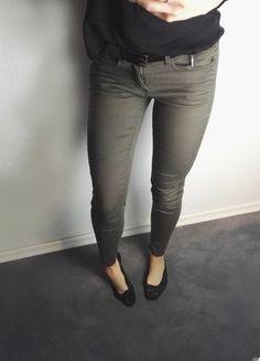 Kup mój przedmiot na #vintedpl http://www.vinted.pl/damska-odziez/rurki/17031185-spodnie-rurki-z-zameczkami-reserved-khaki-xs-skinny-low-waist