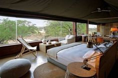 African Safari Style Bedroom Designs - SweetyDesign. Home design, hotel design, celebrity homes