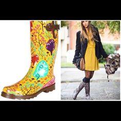 NWTA-Chooka Rain Boots-8 NWTA-modeled in house. Never worn. Tags attached!❤️ Chooka Shoes Winter & Rain Boots
