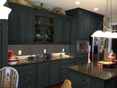die besten 25 dunkle arbeitsplatten ideen auf pinterest dunkle k chenarbeitsplatten ideen. Black Bedroom Furniture Sets. Home Design Ideas