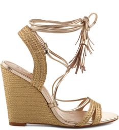 WEDGE TRESSÊ OURO