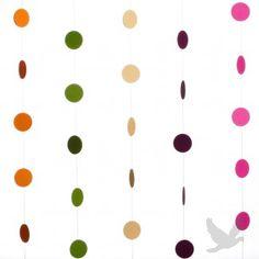 Koyal Polka Dot Garland DIY Kit™ (Set of 5) Available in 45 Colors!