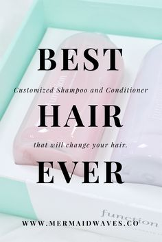 Custom Haircare | Personalized Haircare | Function of Beauty Review | Shampoo and Conditioner | Natural Beauty | Natural Shampoo and Conditioner | Beauty Blogger | Best Hair Ever | Colored Hair Care | Anti Frizz and Color Protection | Best Haircare for Colored Hair | Bottled Blonde Haircare | Beauty Review