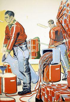 POUL WEBB ART BLOG: Neo Rauch - painter - part 1