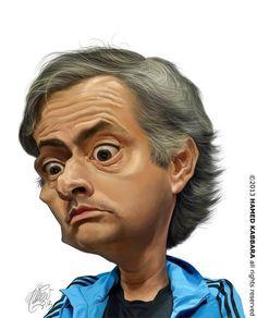 Jose Mourinho Disney Drawings, Cartoon Drawings, Cartoon Art, Funny Caricatures, Celebrity Caricatures, Cartoon Faces, Funny Faces, Realistic Cartoons, Caricature From Photo