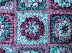 Ravelry: Dahlia Pillow Cover pattern by Tatsiana Kupryianchyk