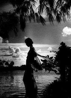 Mrs. Ryan in Palm Beach, 1935.  Photo: Toni Frissell.