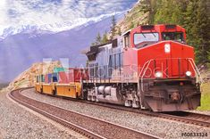 Find Freight Train Canadian Rockies stock images in HD and millions of other royalty-free stock photos, illustrations and vectors in the Shutterstock collection. Thousands of new, high-quality pictures added every day. Canadian Rockies, Trains, Transportation, Photo Editing, Royalty Free Stock Photos, Explore, Transport Logistics, Illustration, Pictures