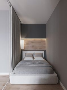 Trendy home remodeling plans interiors Ideas One Room Apartment, Small Apartment Interior, Small Space Interior Design, Small Bedroom Designs, Studio Apartment Decorating, Small Room Design, Home Room Design, Small Room Bedroom, Apartment Design