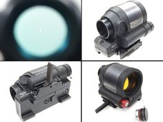 Hot Sale Tactical Trijicon style SRS 1.75 MOA Dot RED Dot Scope With Quick Detachable Mount And Kill Flash For Hunting BWD-004
