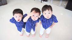 daehan minguk manse - The Return of Superman Korean Babies, Korean Girl, Cute Kids, Cute Babies, Song Il Gook, Superman Kids, Triplet Babies, Song Daehan, Song Triplets