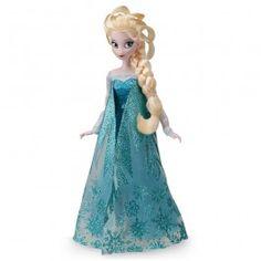 Boneca Rainha Elsa Frozen Disney