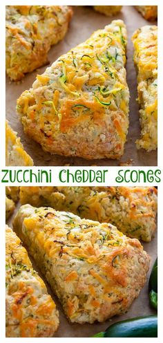 Zucchini Cheddar Scones – Baker by Nature My favorite savory scones are loaded with sharp cheddar cheese and fresh zucchini! Who knew veggies could taste this good! If you have leftover zucchini, try these zucchini cheddar scones! Bread Recipes, Baking Recipes, Scone Recipes, Savory Scones, The Best, Breakfast Recipes, Breakfast Scones, Brunch Recipes, Gastronomia