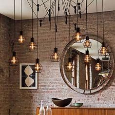 Creative American Style 12 Light Pendant 2015 – $416.99