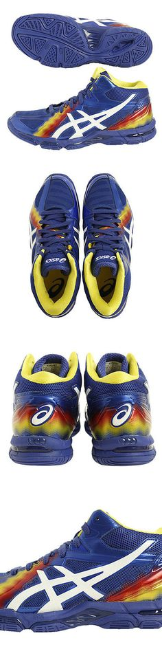 Clothing 159130: Asics Japan Mens Gel-Volley Elite 3 Mt Flame Volleyball Shoes Mid Tvr487 Blue -> BUY IT NOW ONLY: $209 on eBay!