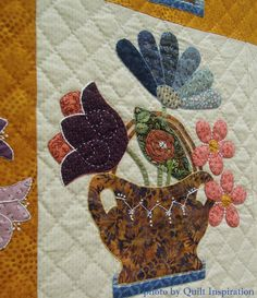 After The Rain by Janet Rupp.  2014 Tucson quilt show.  Photo by Quilt Inspiration.