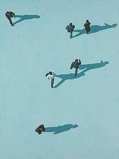 El color una pasada y las personas hasta tienen sombra. Copia y pega