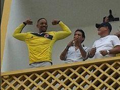 World Cup Brazil 2014 Will Smith y Marc Antonhy se dejaron contagiar por la fiebre amarilla