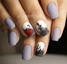 Autumn nails Paris