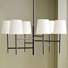 Staggered Chandelier - Small #WestElm