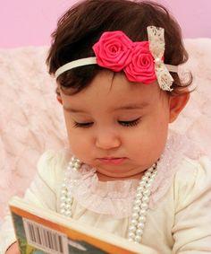 Newborn Baby Girl Toddler Kid Flower Headband Party Hairband Photo Prop Surprise