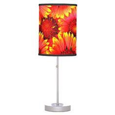 Floral Table Lamp #homedecor #modern #floral #spring