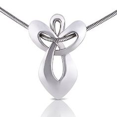I love the simplicity of this necklace yet it gives a quiet and powerful message http://superurl2.com/7454eb6cc27e3a5.  This guardian angel pendant necklace is made of stainless steel which means it won't become tarnished like silver does and is suitable for men or women.