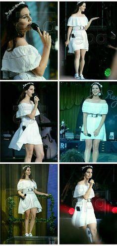 Lana Del Rey at the Vieilles Charrues Festival in France #LDR