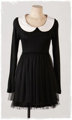 Little Tutu Black Dress: this dress is all too perfect.