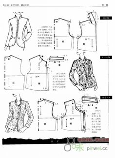 51 Barbie Patterns, Coat Patterns, Clothing Patterns, Dress Patterns, Sewing Patterns, Collar Pattern, Jacket Pattern, Formation Couture, Sewing Blouses