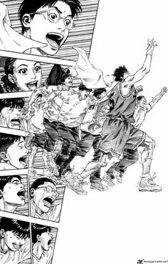 Slam Dunk 276 - Read Slam Dunk 276 Manga Scans Page Free and No Registration required for Slam Dunk 276 Manga Drawing, Manga Art, Anime Manga, Slam Dunk Manga, Vagabond Manga, Manhwa, Inoue Takehiko, Manga Pages, Manga Illustration