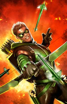 Green Arrow by Dave Wilkins *