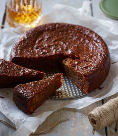 Jamaican Black Cake - a boozy, rum-drenched fruit cake popular in the Caribbean