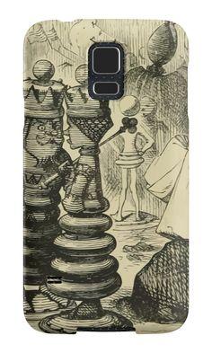 Through the Looking Glass Lewis Carroll art John Tenniel 1872 0034 Castles King Queen by wetdryvac