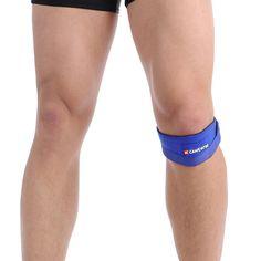 Patella Guard 1 Pair CAMEWIN Knee Support Brace Knee Pads Leg Arthritis Injury Gym Sleeve Elasticated Bandage Pad Elbow Pads #Affiliate