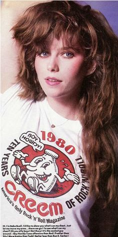 bebe buell creem magazine - bring back the Glam Rock, Famous Groupies, Heavy Metal, Rock N Roll, Dark Wave, Bebe Buell, Whatever Forever, Heroin Chic, Liv Tyler