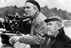 """""""Ingmar Bergman and Sven Nykvist -cinematographer who was one of the greatest and most influential in cinema history"""" Ingmar Bergman, Fanny And Alexander, Vincent Cassel, Roman Polanski, Catherine Deneuve, Cultural, Clint Eastwood, Famous Faces, Movies"""