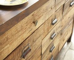 nice reclaimed wood drawers