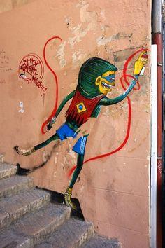 Street Artist: Fábio Binho Cerqueira