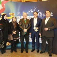 مدیران سیمند کابل در کنار دبیر محترم انجمن سیم و کابل کشور در روز همایش رعایت حقوق مصرف کنندگان