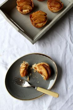 The Spoon and Whisk: Apple Custard Tarts