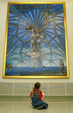 Salvadore Dali, Beaverbrook Art Gallery, Fredericton, NB