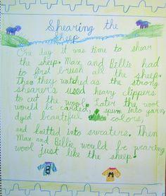 Main Lesson Books (3rd) -    Sheep farming