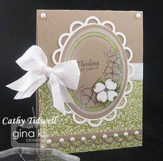 Dogwood and Butterfly by Theresa Momber from Gina K Designs