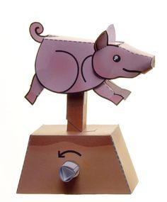 Running Pig Paper Automaton by kamibox